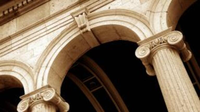 Architectural columns and arches