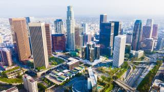 Los Angeles cityscape during the day